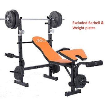 SellinCost Foldable Sit Up Dumbbell Bench Press Chair with Weight Lifting Squat Rack Barbell Bench (YL-05A)