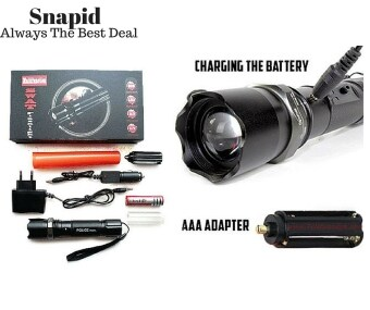 Swat Rechargeable Multifunction Flashlight/Torchlight - 2