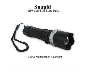 Swat Rechargeable Multifunction Flashlight/Torchlight