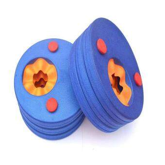 Swim Discs Foam Arm Bands Swimming Float Trainer for Kids ChildrenSwimming Arm Ring Pool Accessories Swimming Arm Ring