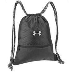 under armour bag. under armour waterproof drawstring bag/ sports backpack/travel bag/shoe bag/shoulder soccer basketball bags/ unisex - black under armour bag