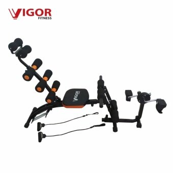 VIGOR FITNESS Six Pack Care with Bike Abs Machine
