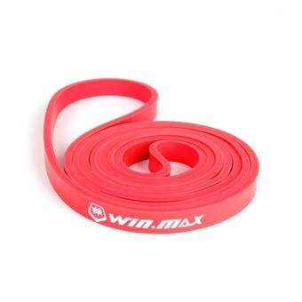 Winmax Natural Latex Pull Up Resistance Bands Gym Loop BodybuildingYoga Exercise Fitness Equipment (Red)