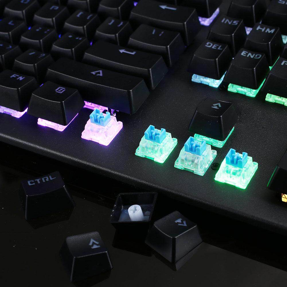 Professional Mechanical Keyboard 104 Keys Outemu Blue Switch RGB Backlight  USB Computer PC Typing Electronic Sports Adjustable Gaming Keyboard Full