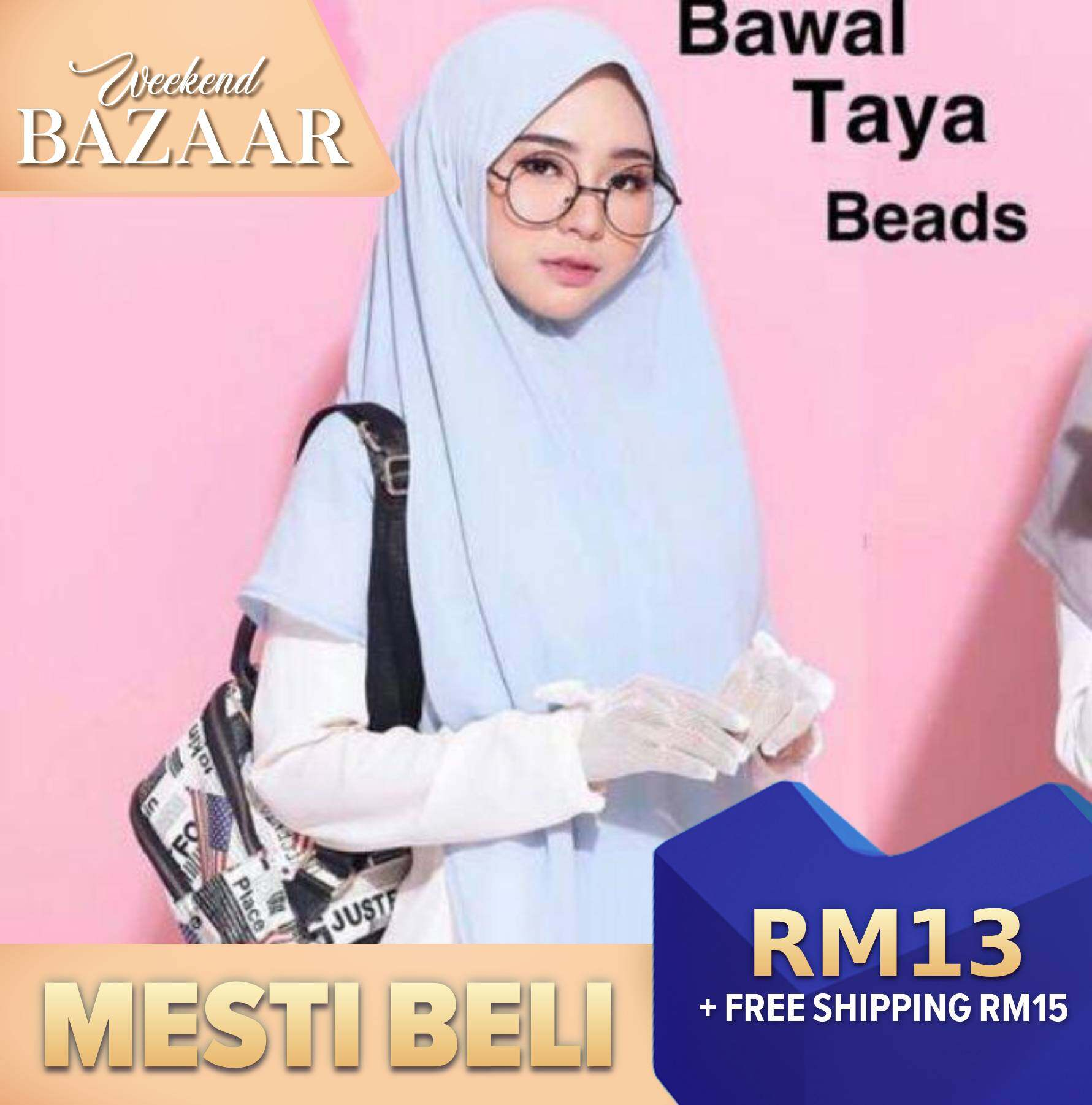 Instant Khimar Zip Buy Sell Online Hijabs With Cheap Price Lazada