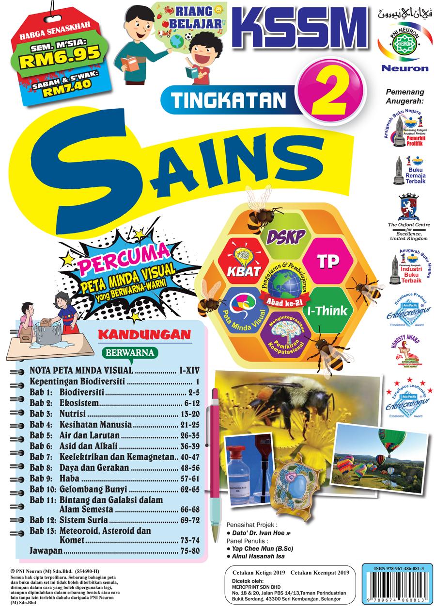 Latihan Formatif Jawapan Buku Teks Sains Tingkatan 3 2019 ...