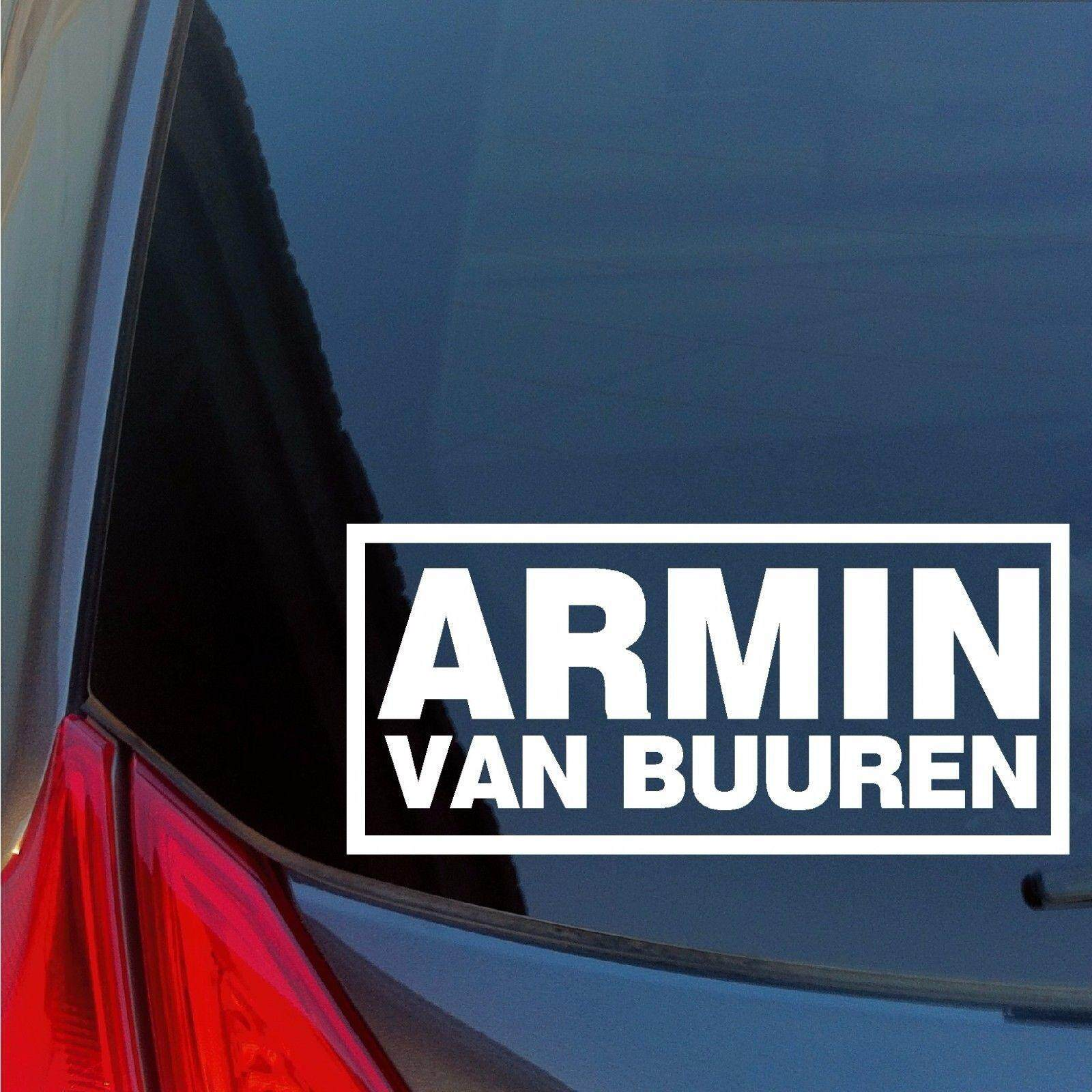 Armin Van Buuren vinyl sticker decal House Trance DJ night club house EDM  EDC -15cm