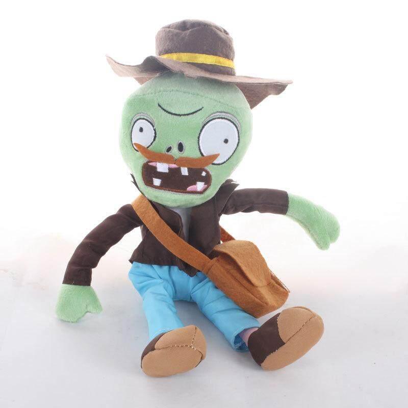 30cm PVZ Plant Vs Zombies Plush Toys Jester Zombie