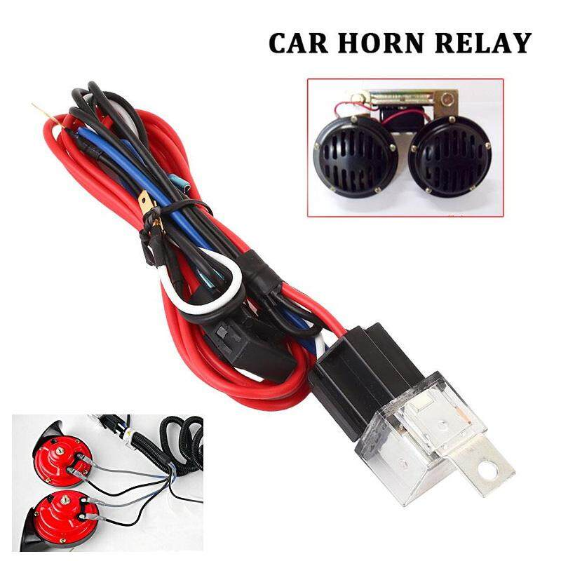 AutoFAN Horn Wire Wiring Harness Relay Kit with Fuse 30A Accessories on