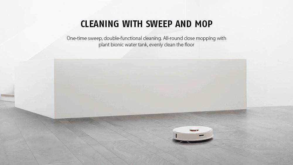 [#1YRWRTY] 2019 Xiaomi Roborock S50 / S51 / S55 Mi Robot Vacuum Cleaner 2 -  WiFi Intelligent Smart Home Control