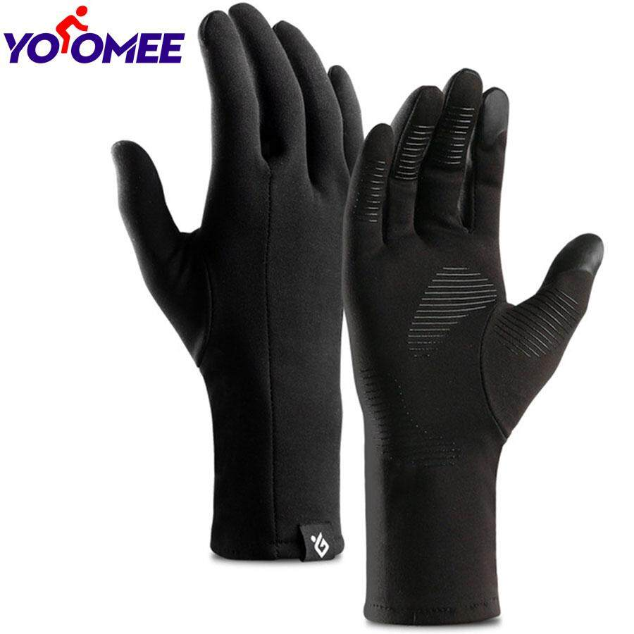 Touch Screen Gloves Winter Running Outdoor Gloves for Men Cycling Driving PU leather Warm Windproof Soft Gloves