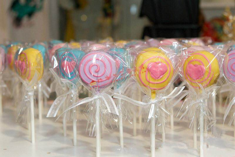 Lollipop Opp For Candy 100PCS//Lot Plastic Bags Transparent Cookie Packaging