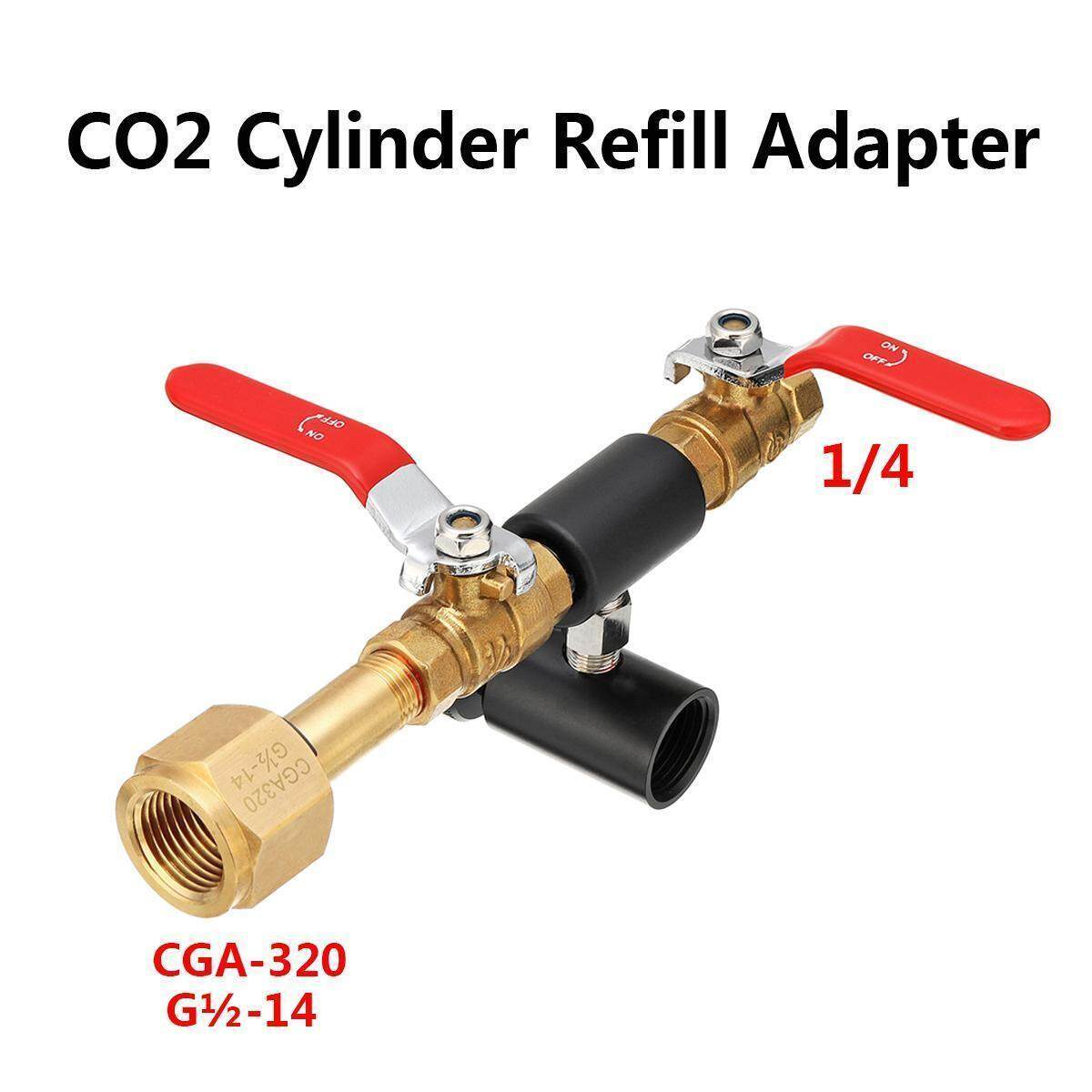 CO2 Cylinder Refill Adapter for SodaStream bottle Connector Homebrew Kit