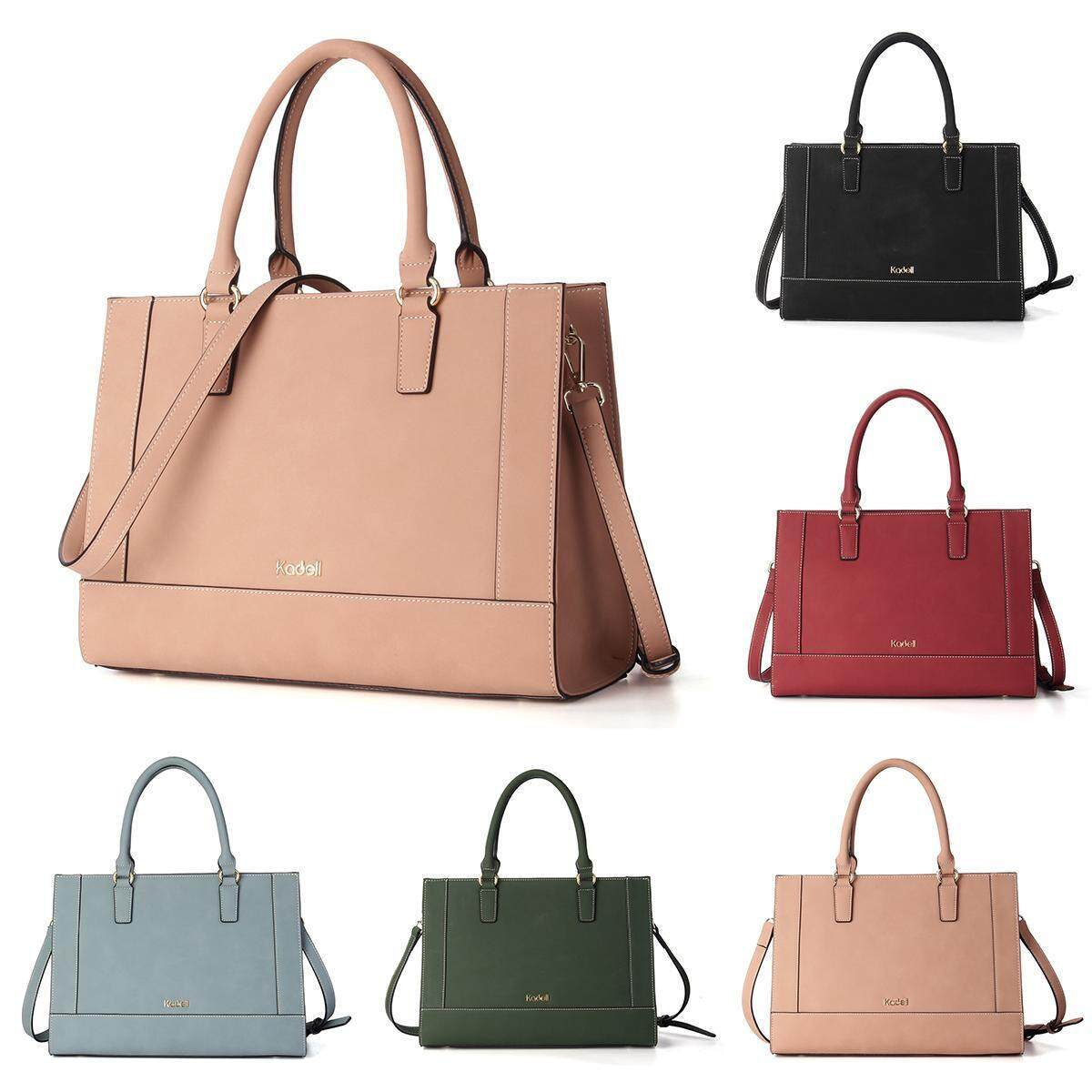 3ccb9eb996ab Product details of Kadell spring simple style Cambridge bag large capacity  matte leather ladies handbag