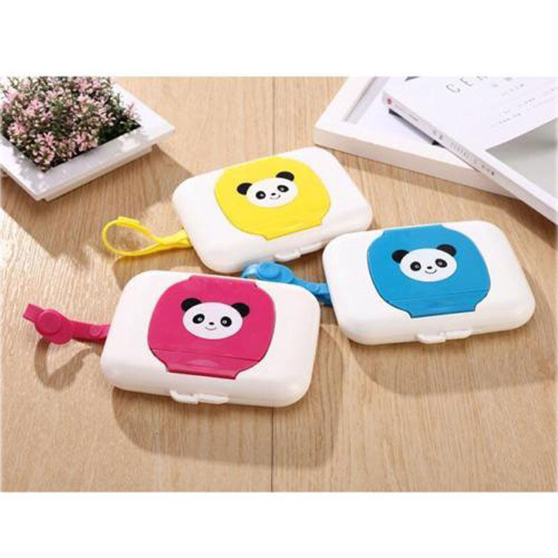 Portable Wet Tissue Case Travel Wipes Dispenser Wet Wipes Box for Baby Toddler