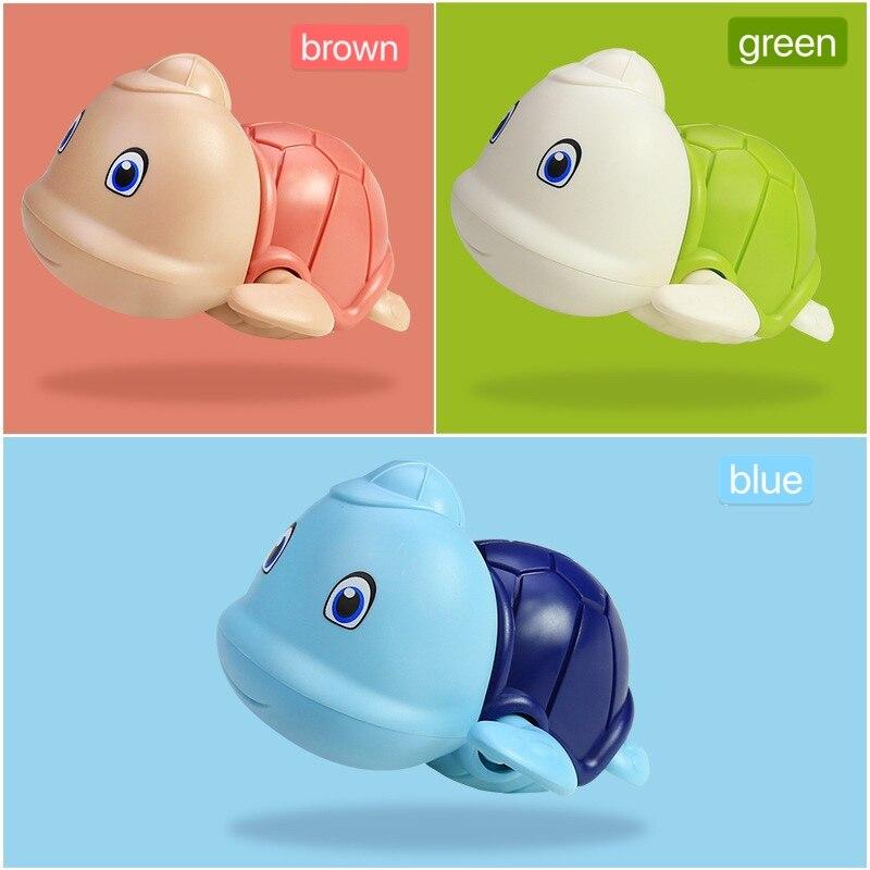 Đồ chơi nhà tắm rùa có mũ bơi vặn cót siêu cưng chất liệu an toàn cho bé thỏa sức vui chơi - INTL 5