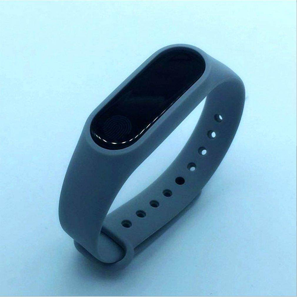 TE M2 Smart Bracelet Android Ios Waterproof Heart Rate Bluetooth Sports  Silicone