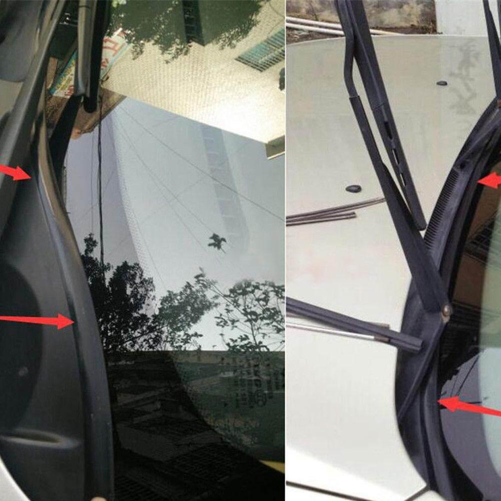 1.7m Car Rubber Seal Under Front Windshield Panel Sealed Trim Moulding Strips