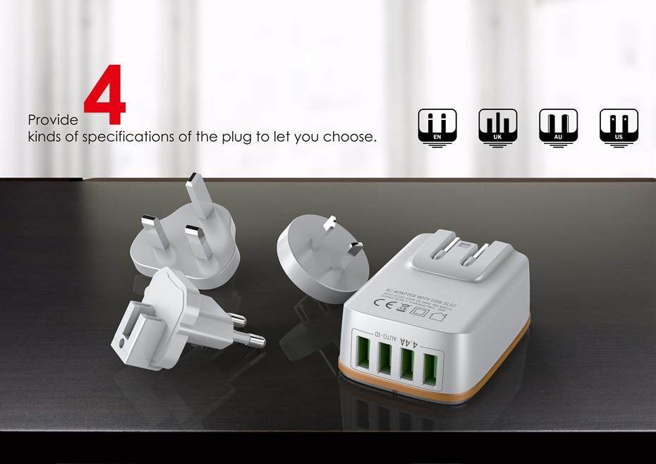 LDNIO USB TRAVEL CHARGER  (5)