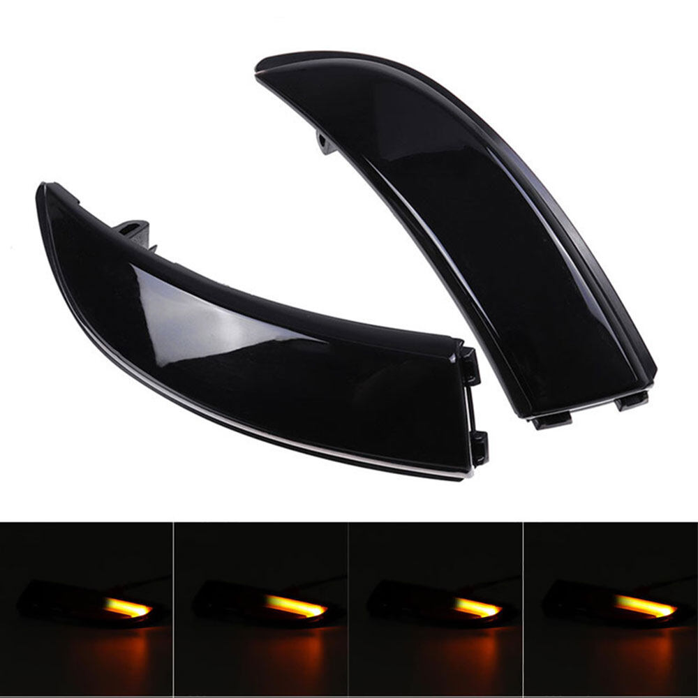 Dynamic Turn Signal Light LED Side Rearview Mirror Sequential Indicator Lamp For Fo rd Fiesta Mk7 2008-2017 B-Max 2012-2017