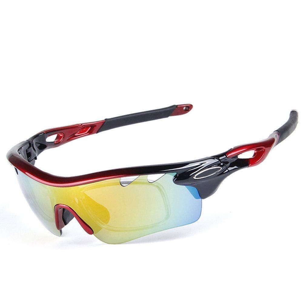 Cycling Sunglasses Polarized Glasses Eyewear Bike Fishing Sports UV400 5 Lens