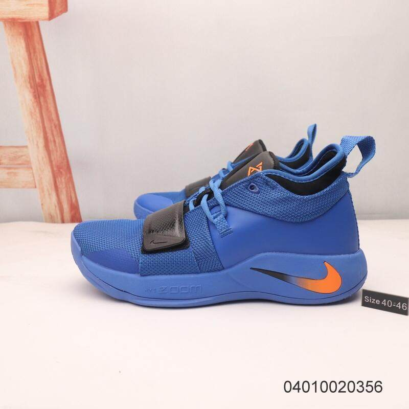 sports shoes d183b 54c6a Nike PG 2.5 Pendleton Paul George thunder limited live basketball shoes