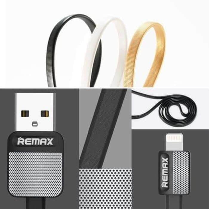 original Remax Metal Platinum USB Data Cable Charger RC-044i for iPhone এর ছবির ফলাফল
