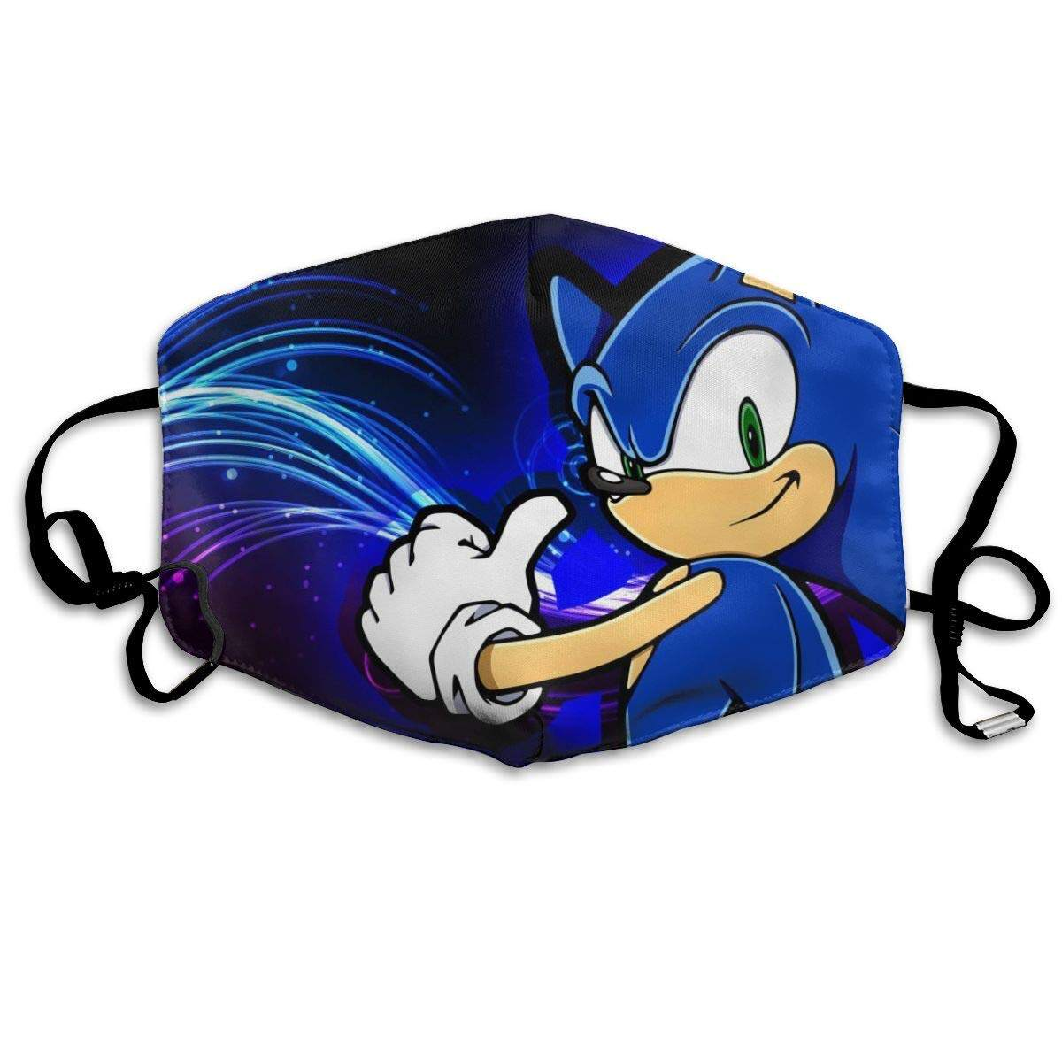 Face M Asks Sonic Hedgehog Breathable Dust Filter M Asks Mouth Cover M Asks With Elastic Ear Loop Lazada Singapore