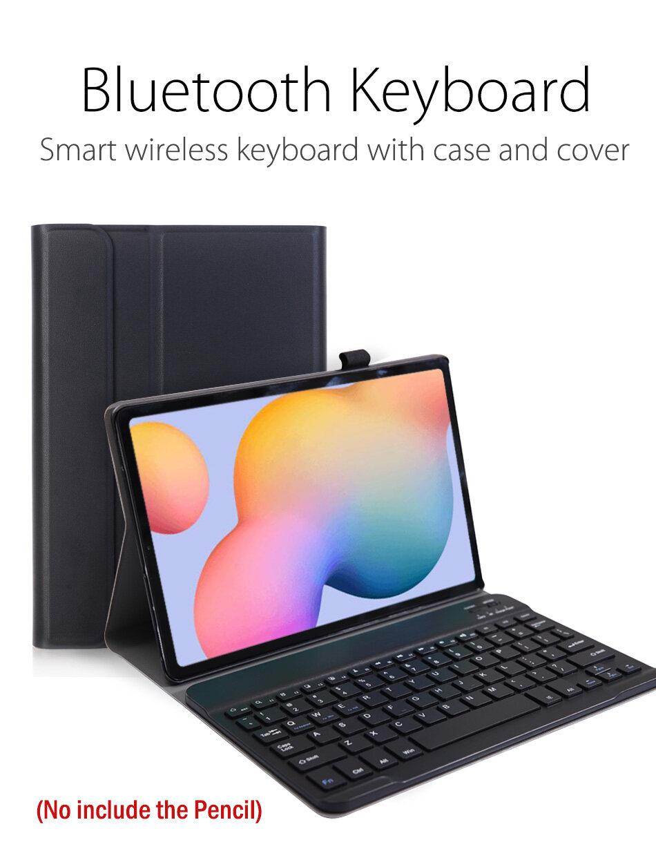 Ultra-thin Portable Bluetooth Wireless Keyboard with Flip Case ...