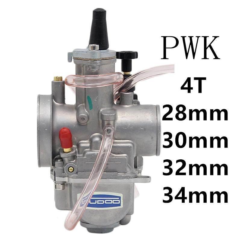 YC Motors 4T Engine Carburetor Carburador 32mm With Power Jet For PWK  Keihin Honda Yamaha Racing Motor