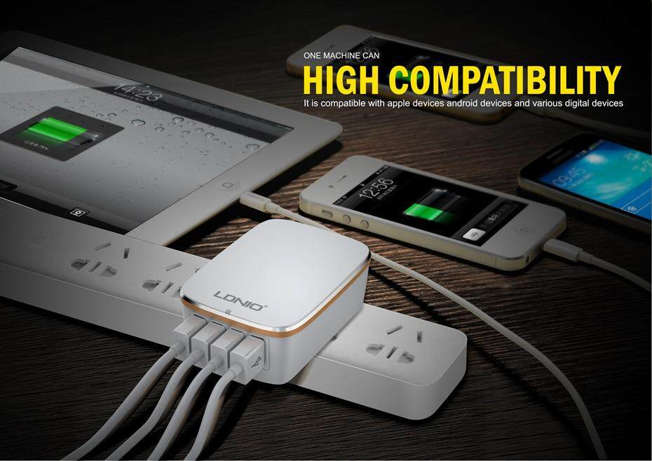 LDNIO USB TRAVEL CHARGER  (6)