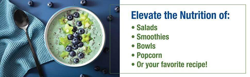 salads smoothies bowls popcorn recipe green food healthy protein supreme eyeastin antioxidant shake