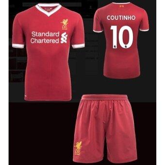 buy popular 9bbeb 2352e Diperhatikan 2017-2018 Liverpool jersey Home Kit Jersey NO10 ...