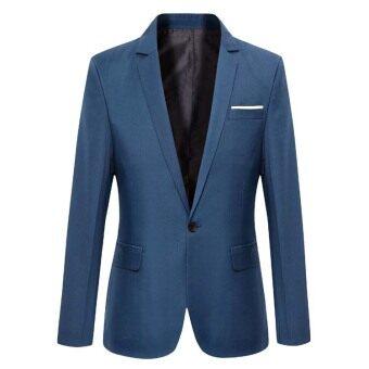 2017 Casual Suit Blazer Men New Arrival Fashion Slim Fit JacketMale Suits Masculine Blazer for Men Outerwear - 2