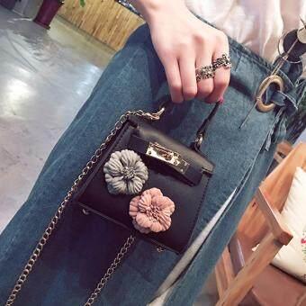 ... 360WISH Kids New Korean Style Flower Mini Kelly Bag Handbag Chain Pack  Crossbody Bag For Girl a14ae55a89