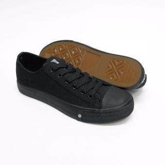 Abaro School Shoes [NEW] 7286 - Black Canvas Secondary School Unisex