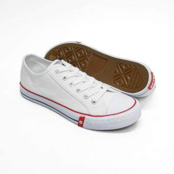 Abaro School Shoes [NEW] 7292 - White Canvas Secondary School Unisex