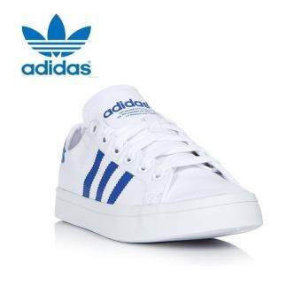 Adidas BB4977 Unisex Originals Court vantage Casual shoes whiteblue