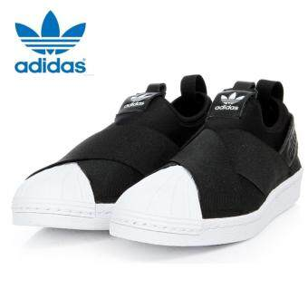 Adidas Originals Superstar Slip-on Shoes S81337 Black/White Express