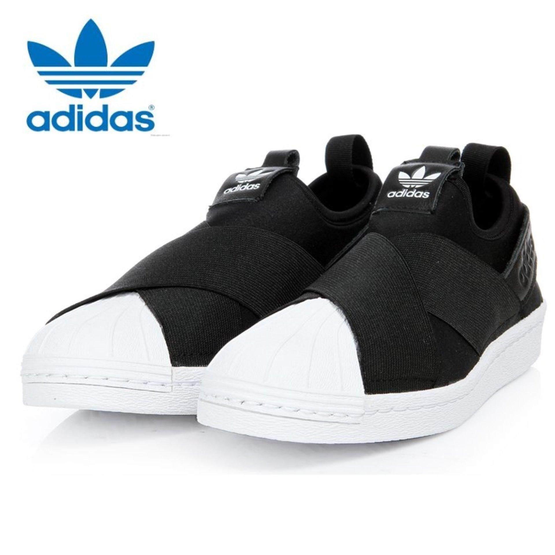 adidas shoes black. adidas originals superstar slip-on shoes s81337 black/white express   lazada malaysia black
