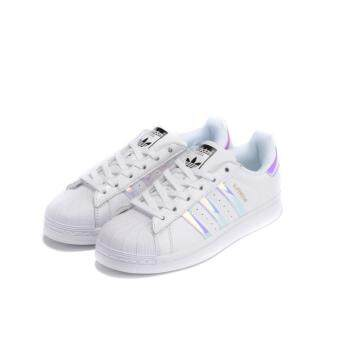 ADIDAS SUPERSTAR SHOES WOMEN LASER