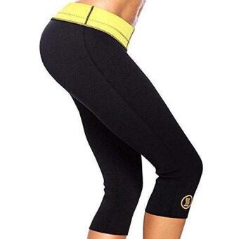 As seen on Tv Hot Shapers Slimming Pants Womens Capri SlimmingBlack - 2
