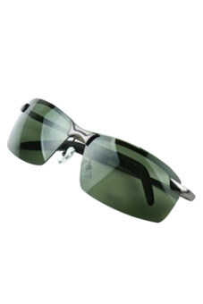 Harga Bluelans(R) Framed Outdoor Sports Polarized Sunglasses (Green)