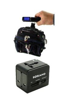 Bundle Deal- Sokano Travel Adaptor and Portable Digital Luggage