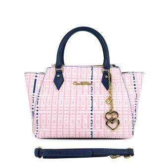 Harga Carlo Rino 0303442-007-13 Top-handle bag (Pink)