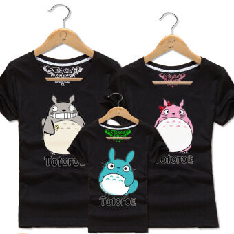 Sell cartoon cotton parent and child totoro couple 39 s for Where can i sell my shirts online