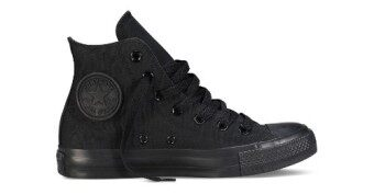 converse hi cut black