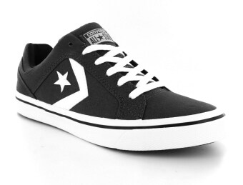converse black and white. converse skate distrito 155064c unisex (black/white) converse black and white