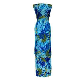 Cotton & Silk Fabric Kain Ela Meter Baju Kurung Chiffon Matching Valentino Crepe 502e