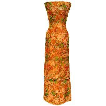 Cotton & Silk Fabric Kain Ela Meter Baju Kurung Chiffon Matching Valentino Crepe 505c